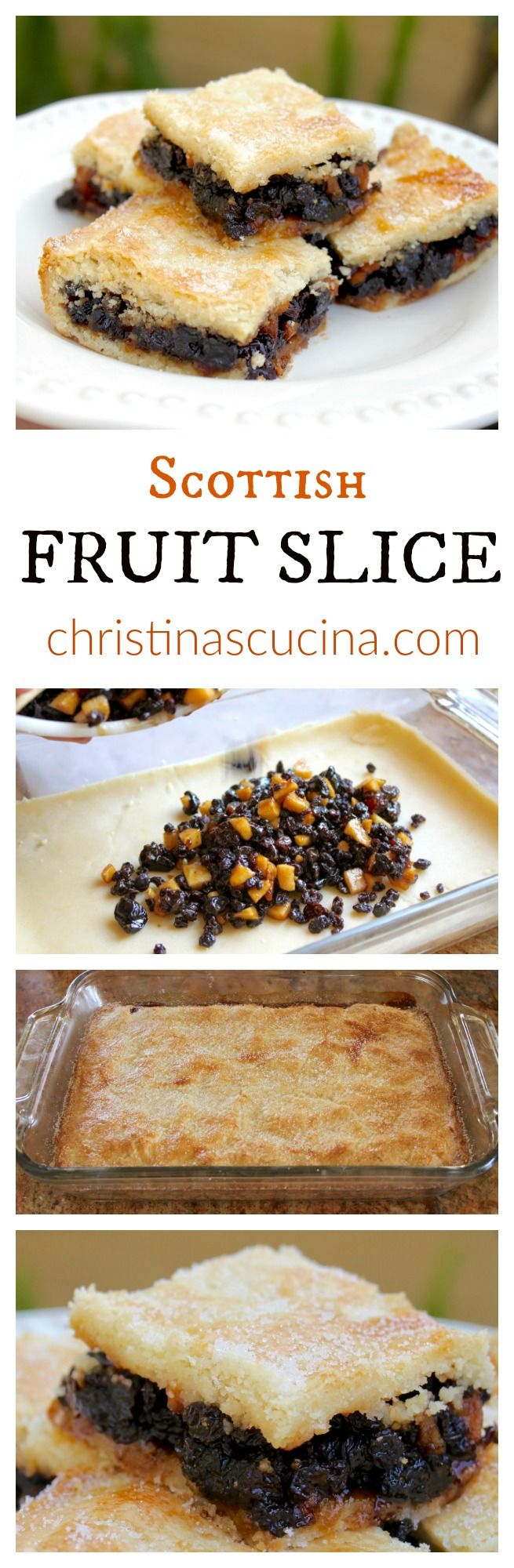 Scottish Fruit Slice recipe