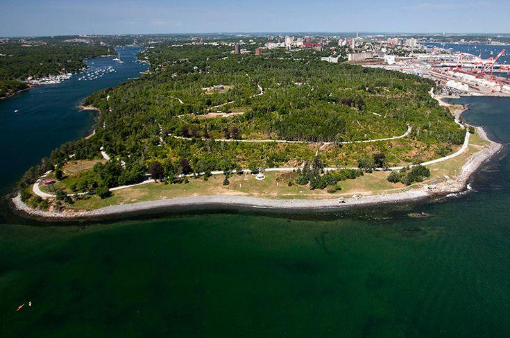 Point Pleasant Park   Halifax, Nova Scotia   Off-Leash Trails