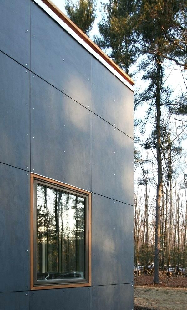 Cement Fiber Board Panels I Like This For A Modern Siding Solution And It Is Supposedly Pretty Inexpensive Modern Exterior Modern Siding House Cladding