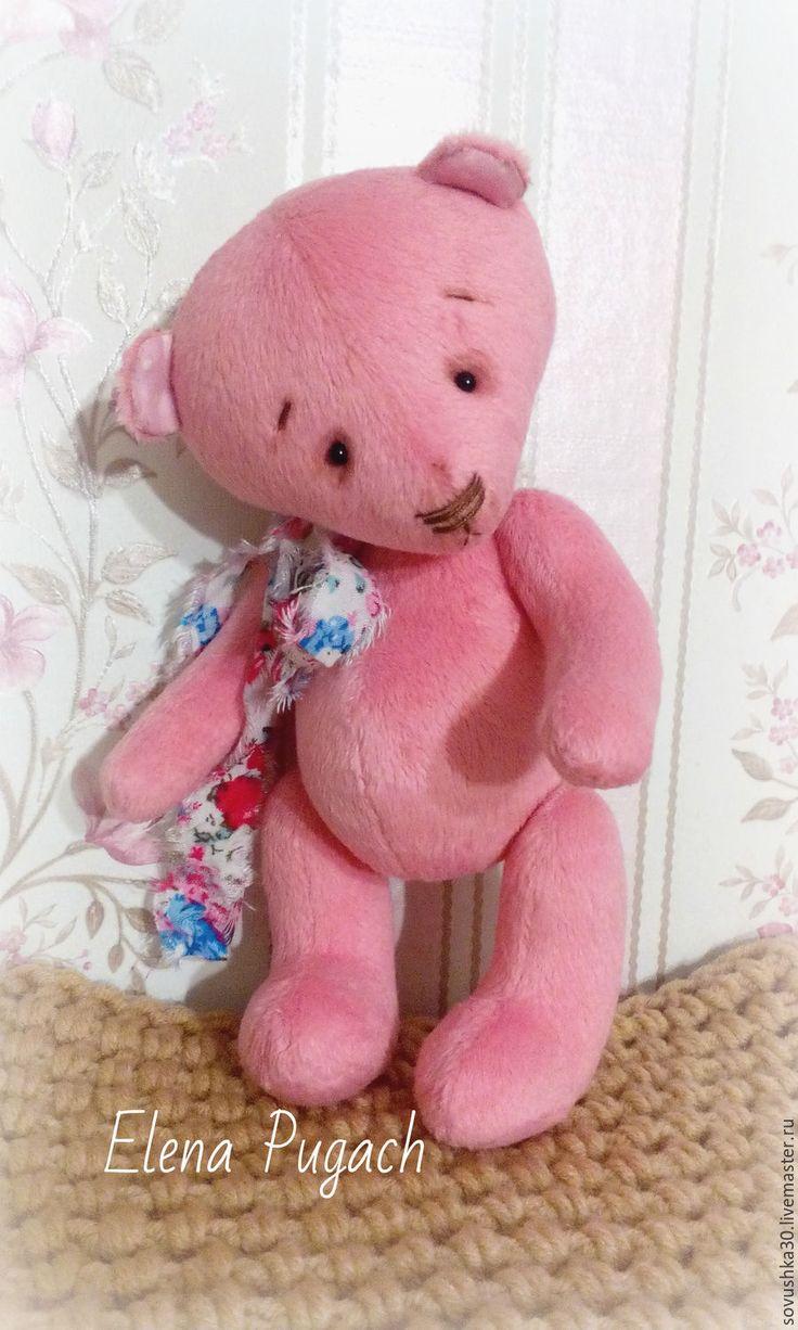 Купить Плюшевый тедди мишка Пинк 20,5см (8 дюймов) - розовый, мишка