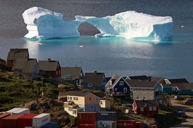 Iceberg, Kulusuk, Greenland