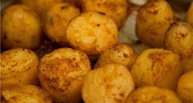 καραμελωμένες πατάτες φούρνου με φλούδα ήχωρίς - Pandespani.com