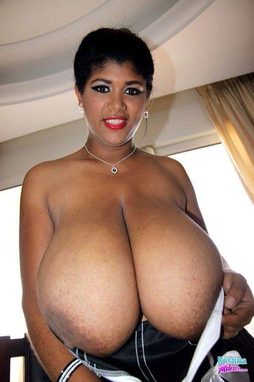 Big black boobs free