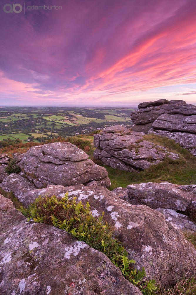 Daybreak on Dartmoor