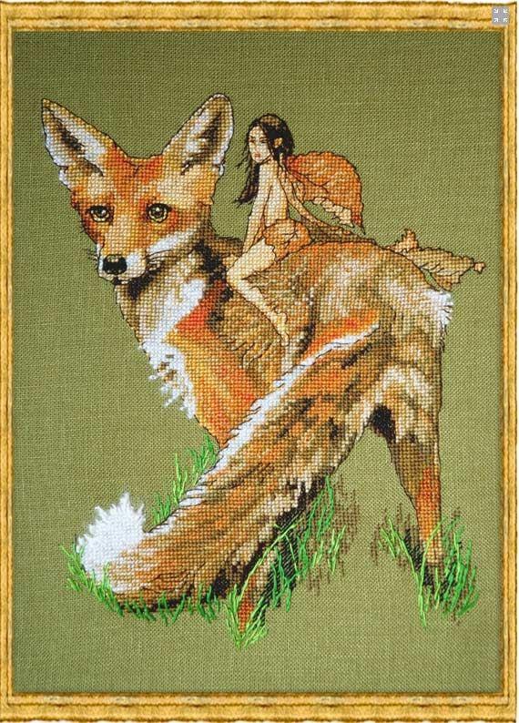 X stitch foxnfairy5