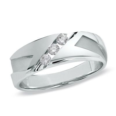 12 best images about mens wedding rings on pinterest for Mens wedding rings with stones