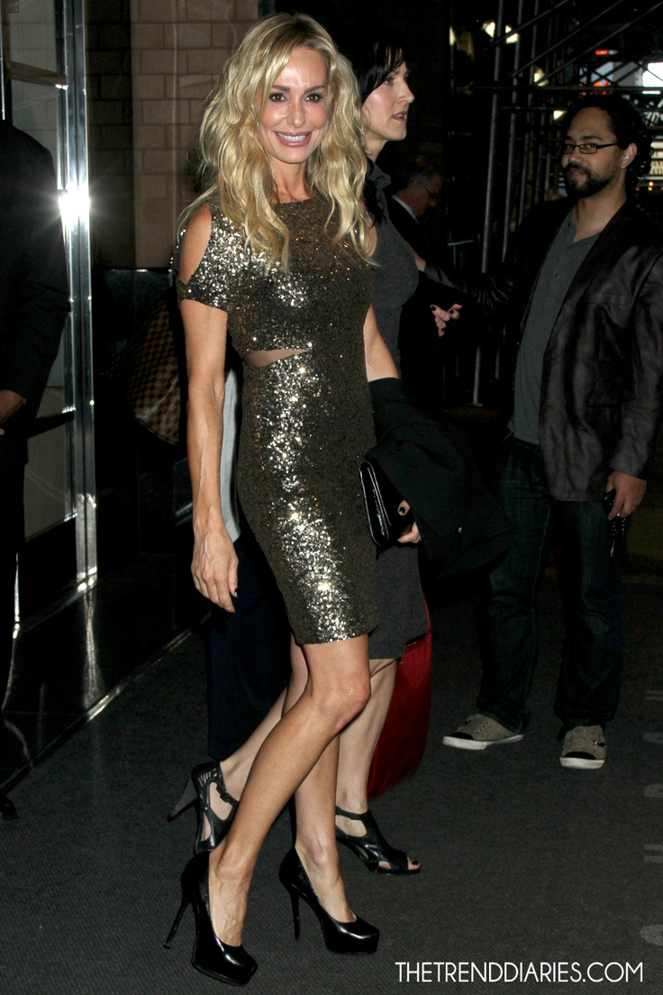 I love Taylor Armstrong and I love love love Taylor's Yves Saint Laurent 'Tribtoo' Leather Platform Pumps!!!
