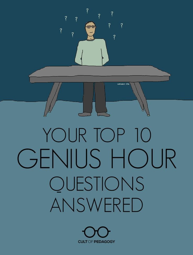 Your Top 10 Genius Hour Questions Answered - A.J. Juliani answers the 10 most frequently asked questions about Genius Hour.