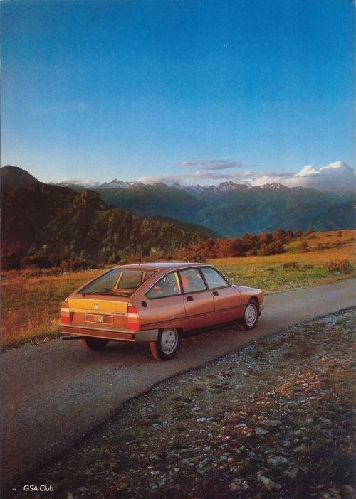 1981 Citroën GSA