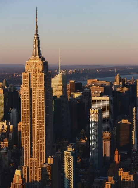 YannArthusBertrand2.org - Fond d écran gratuit à télécharger || Download free wallpaper - Empire State Building, Midtown South, Manhattan, New York, États-Unis.