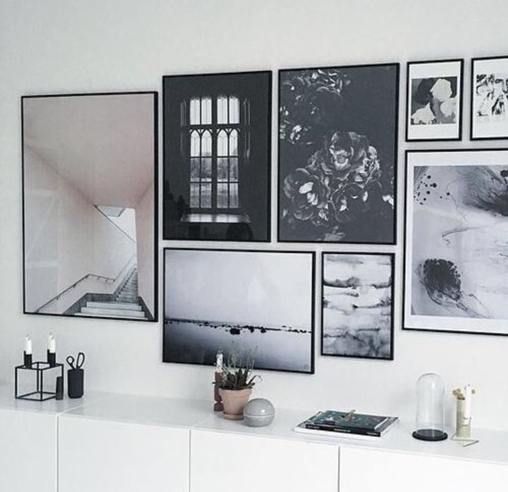 Black frames gallery wall. Are you looking for one of a kind art photo prints to create your own art wall... Visit bx3foto.etsy.com