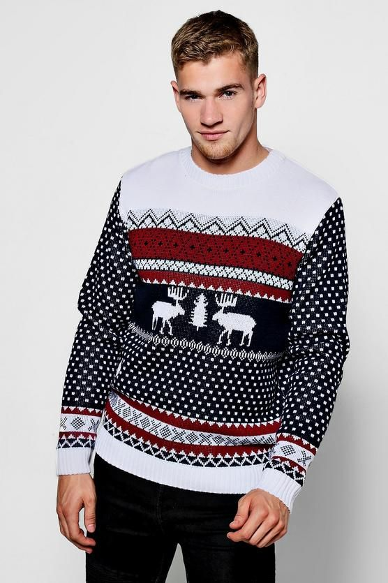 46 best Xmas Style Sweater images on Pinterest | Knitting ...