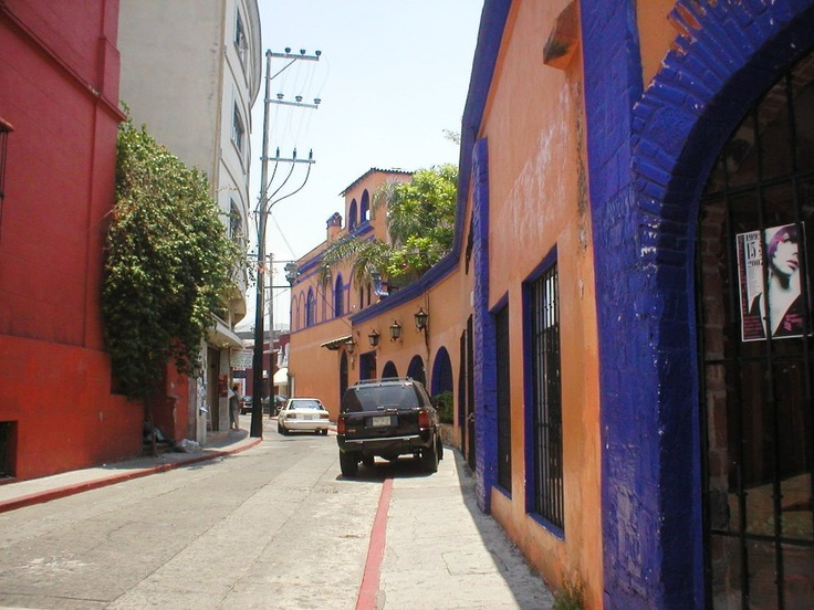 another stree near school in Cuernavaca