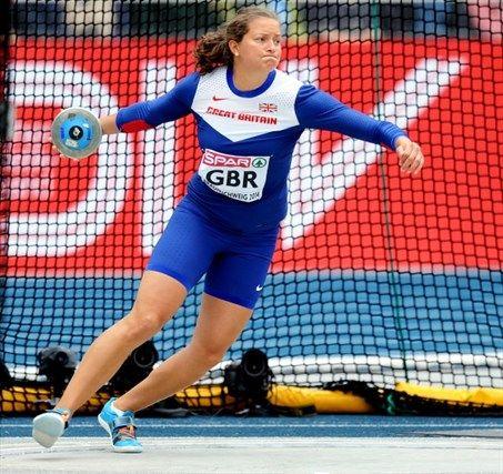 Jade Lally - Athletics. Discus.