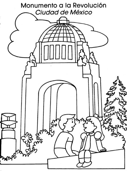 COLOREA TUS DIBUJOS: Monumento a la revolución Ciudad de México