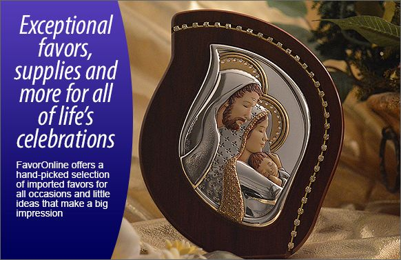 Exceptional favors, supplies, and more for all of life&aops;s celebrations