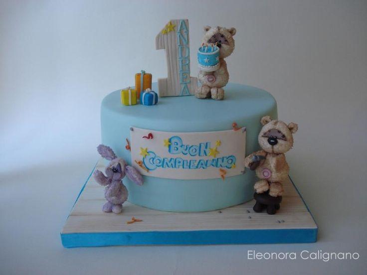 First birthday - Cake by Eleonora Calignano