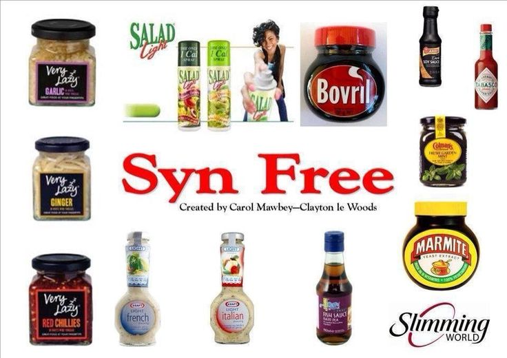 Syn free staples