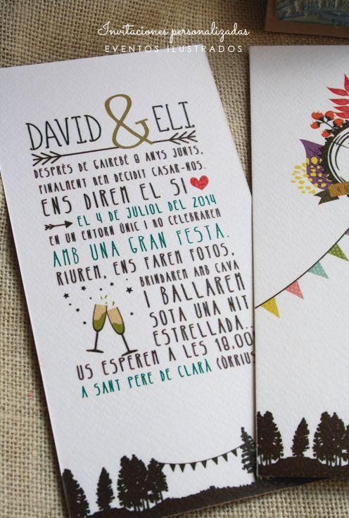 #personalizacion #boda #invitacion