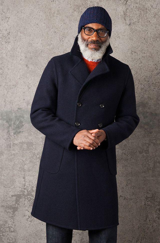 Осенний гардероб джентльмена в лукбуке Drake's