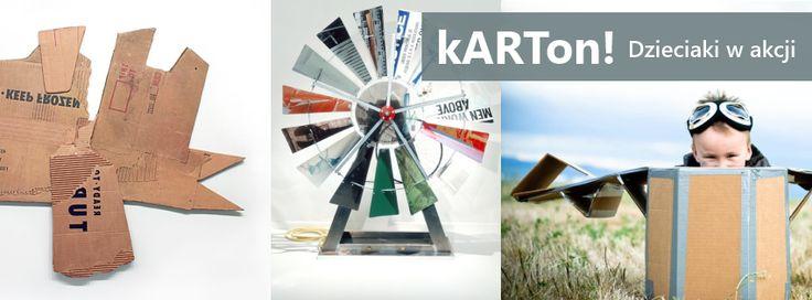 Konkurs na DZIEŃ DZIECKA kARTon. Dzieciaki w akcji! | http://dekoeko.com/konkurs-karton-dzieciaki-w-akcji/ | Czytaj więcej na www.dekoeko.com