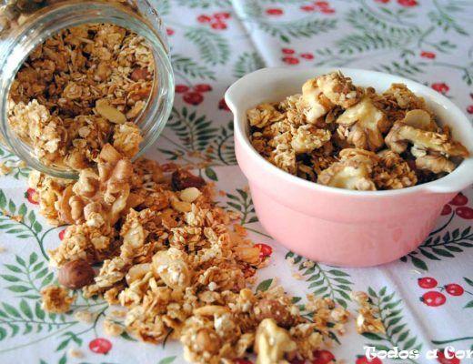 Cereales crujientes - Granola casera