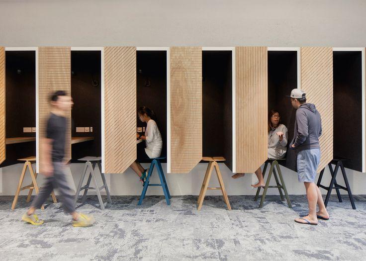 Inspiratiebeeld Silence Workplaces/Stilte Werkplekken
