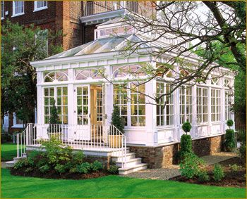 Inspirational Sunroom attached to House