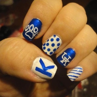 Kentucky Wildcat nails