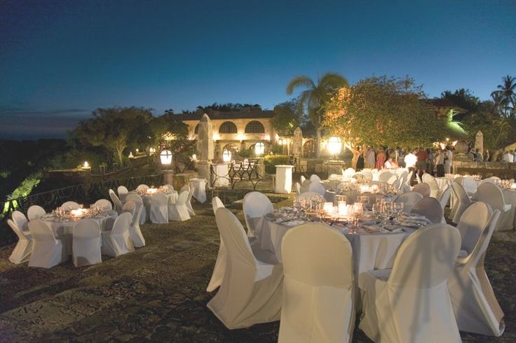Dominican Republic Wedding altos de chavon plaza wedding