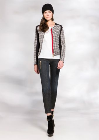 Houndstooth is what is trending for Fall!