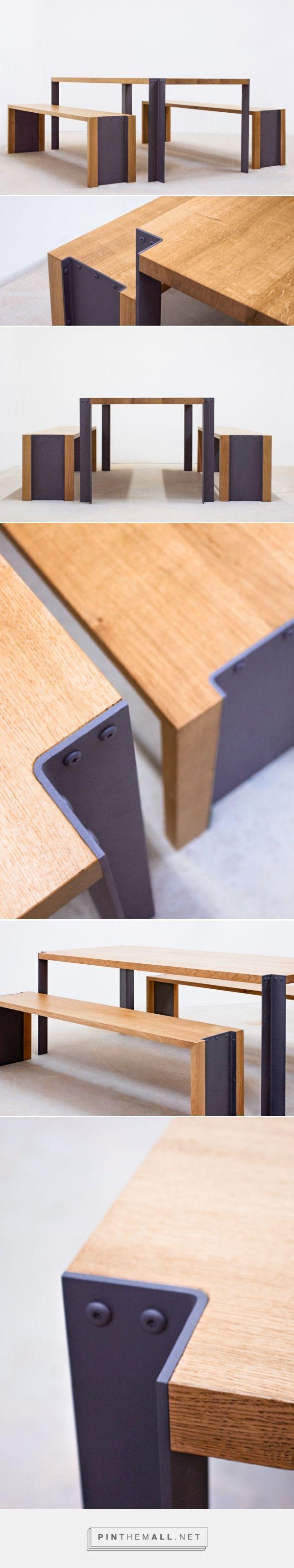www.folsom-studio.fr #følsom #studio Ensemble table et bancs ✌ FØLSOM Studio