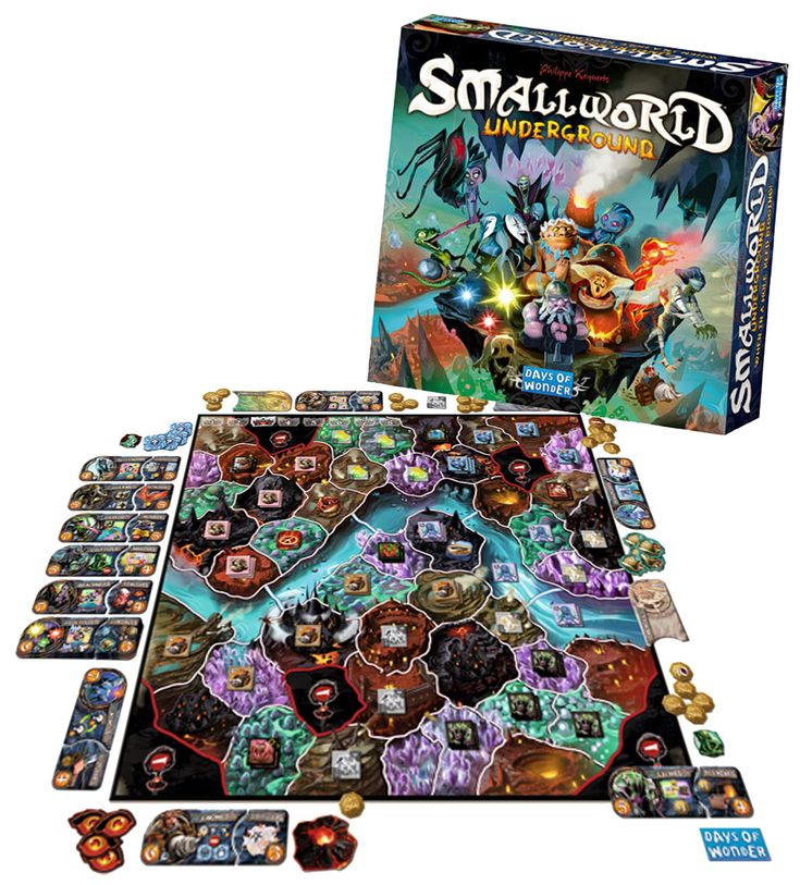 Days of Wonder DOW 7909 Small World Underground: Amazon.ca: Toys & Games