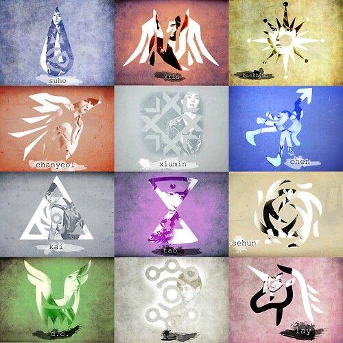 EXO oppa's symbols