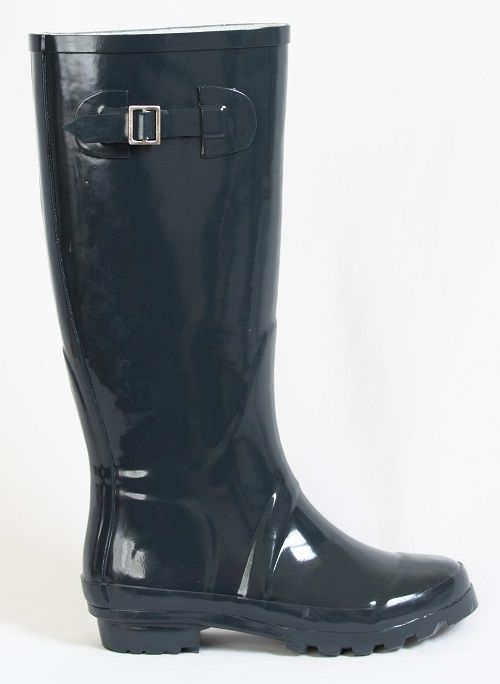 Glossy grey gumboots co-ordinate with practically every colour - could they be this winter's wet weather 'must have'? Buy these Kokako grey gumboots at www.GumbootBoutique.com