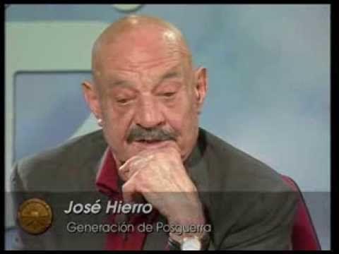 Entrevista a José Hierro, representante de la poesía social