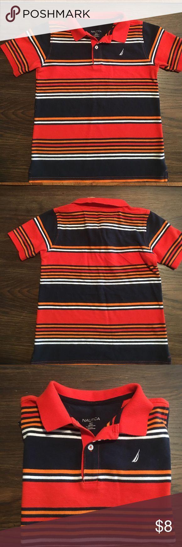 Boys Nautical shirt Boys Nautica Short sleeve shirt. In good condition size M (6-7) Nautica Shirts & Tops Polos