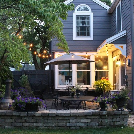 Set the mood for a lovely evening on the patio tips for creating a magical
