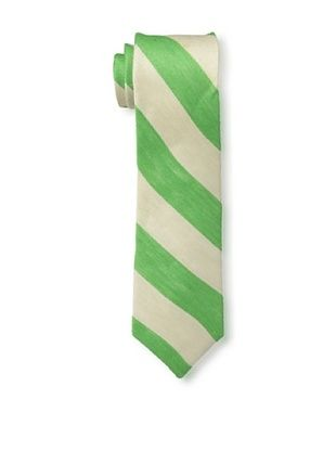 55% OFF Gitman Brothers Men's Woven Stripe Tie, Green