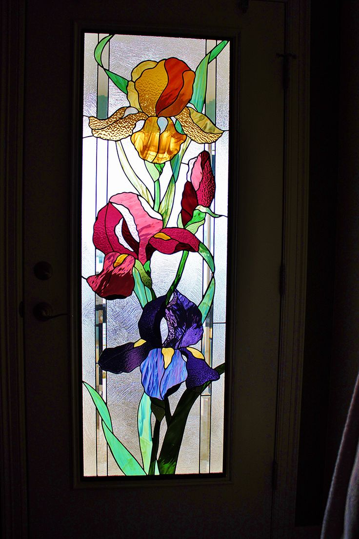 Beach theme decoration stained glass window panels arts crafts - Stained Glass Flowers Nature Stained Glass Denver Sue Thomas Stained Glass Artist