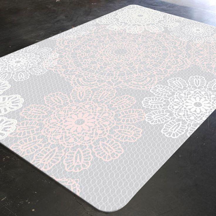 Handmade Crochet Rug Pink Rug Pink Carpet Nursery: Best 25+ Shabby Chic Rug Ideas On Pinterest
