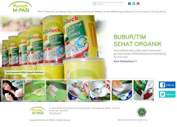 Web yang menjual satu merk produk makanan bayi - Rumah MP Asi. rumahmpasi.com