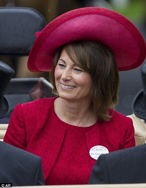 Carole Middleton at Royal Ascot 2012.: Royals Hats, British Middleton, Ascot 2012, Middleton Families, Daughters Kate, Carol Middleton, Kate Middleton, Royals Ascot, Royals Families