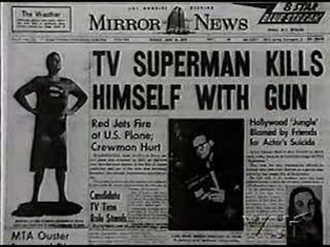 After the Superman series, Reeves had trouble finding work and was in dire financial straits due to his extravagant Hollywood lifestyle. According to the police report, between approximately 1:30 and 2:00 a.m. on June 16, 1959, Reeves reportedly shot himself in the head in the upstairs bedroom of his Los Angeles home, while his fiancée, playwright Leonore Lemmon, and friends William Bliss, writer Robert Condon, and Carol Van Ronkel were partying downstairs.