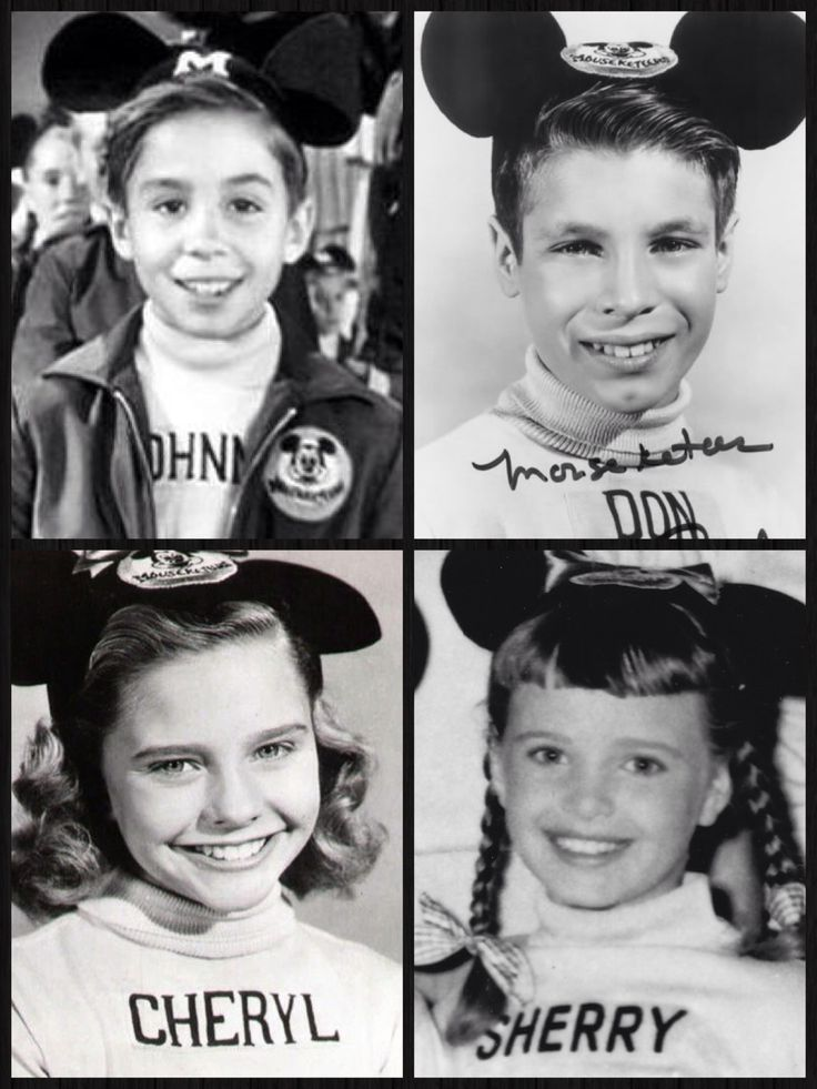 """The Mickey Mouse Club (1955–1959). These were not part of the """"core"""" of nine musketeers, but I remember them nonetheless."""
