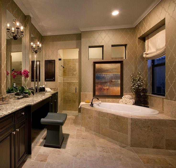 Model home pictures bathroom decor