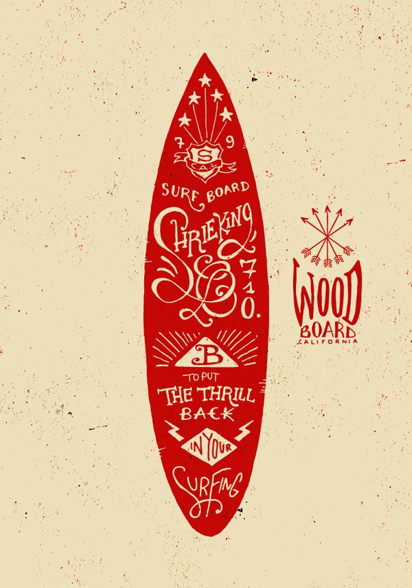Graphic & hand-lettering boards by BMD Design , via Behance