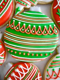 .Oh Sugar Events: Christmas Ornaments