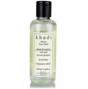 khadi neem and tea tree face wash