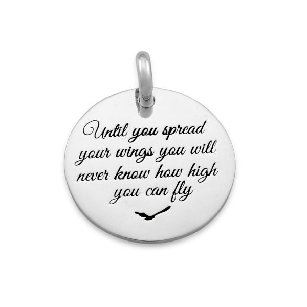 Candid 'Until You Spread Your Wings' Pendant